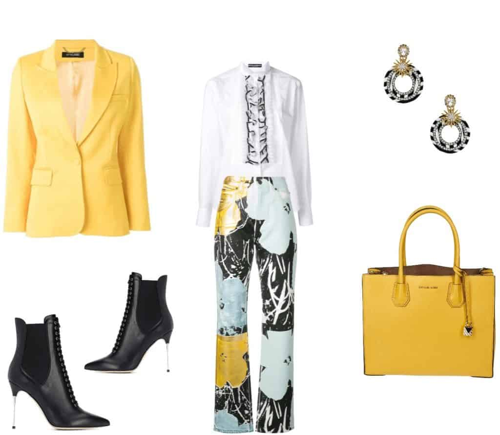 How To Wear Mustard Yellow In The Fall: