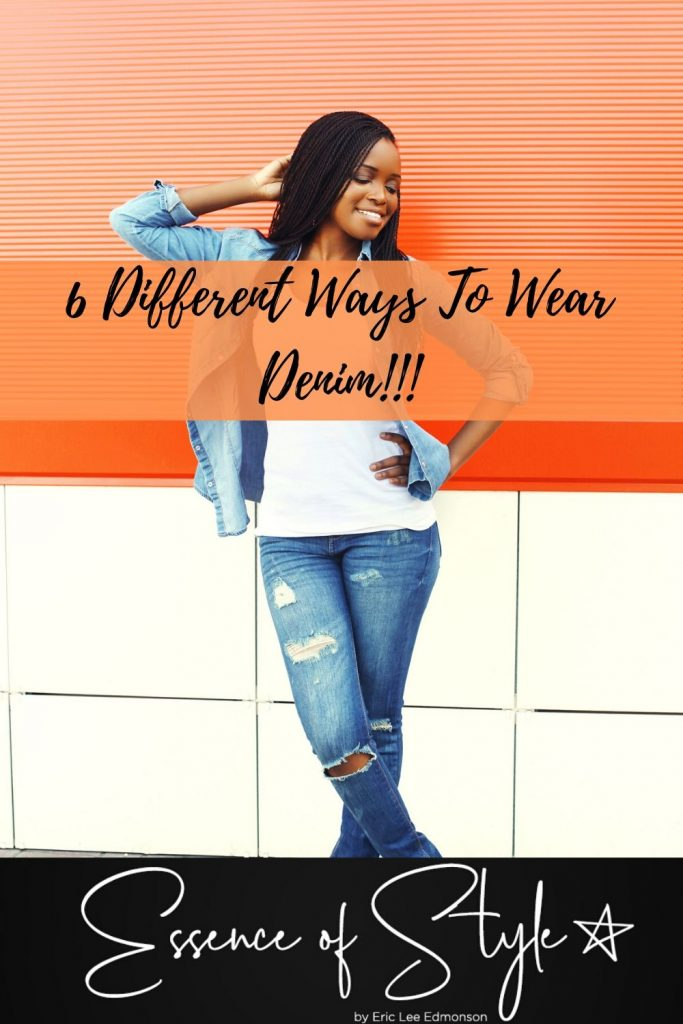 Denim is an age-old fashion staple for any wardrobe! Check out how I styled 6 different ways to wear denim for inspiration for your wardrobe! #denimoutfit #denimoutfitwomen #denimoutfitidea