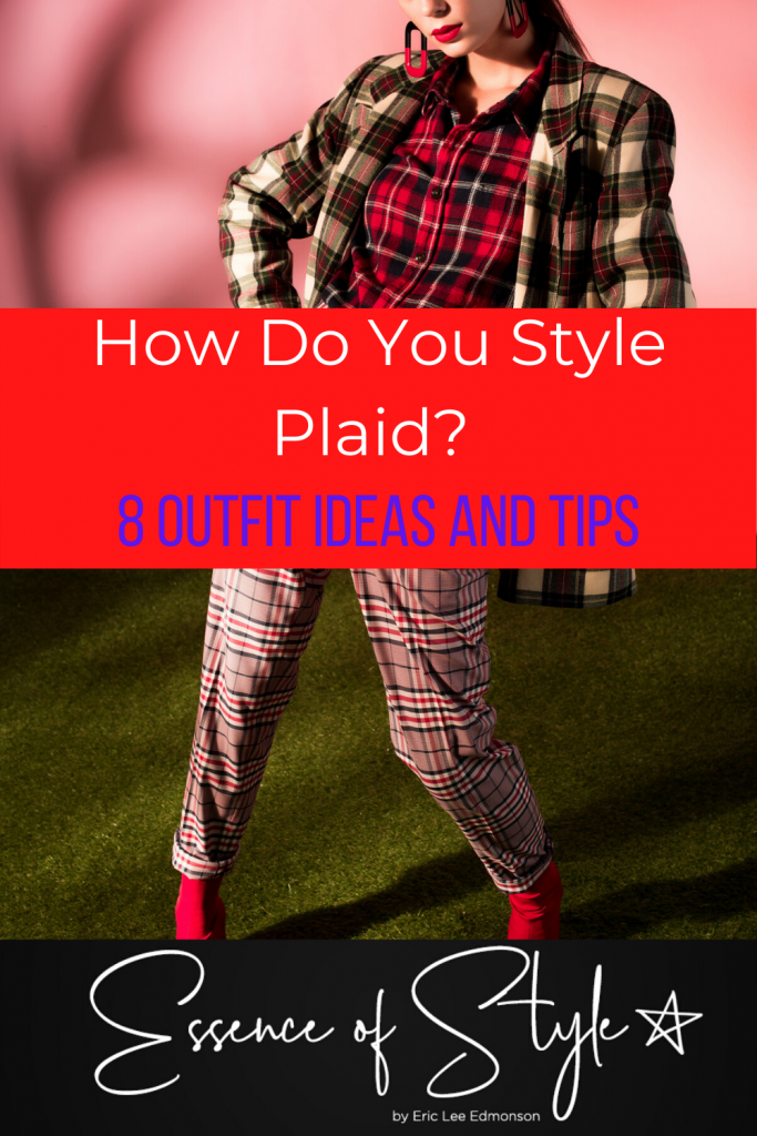 Plaid never goes out of style! I have 8 outfits to teach you how to style plaid into your own wardrobe and do it without looking like a lumberjack! #howtostyleplaid #plaidoutfitsforwomen #plaidoutfitideas #plaidoutfits #fashion