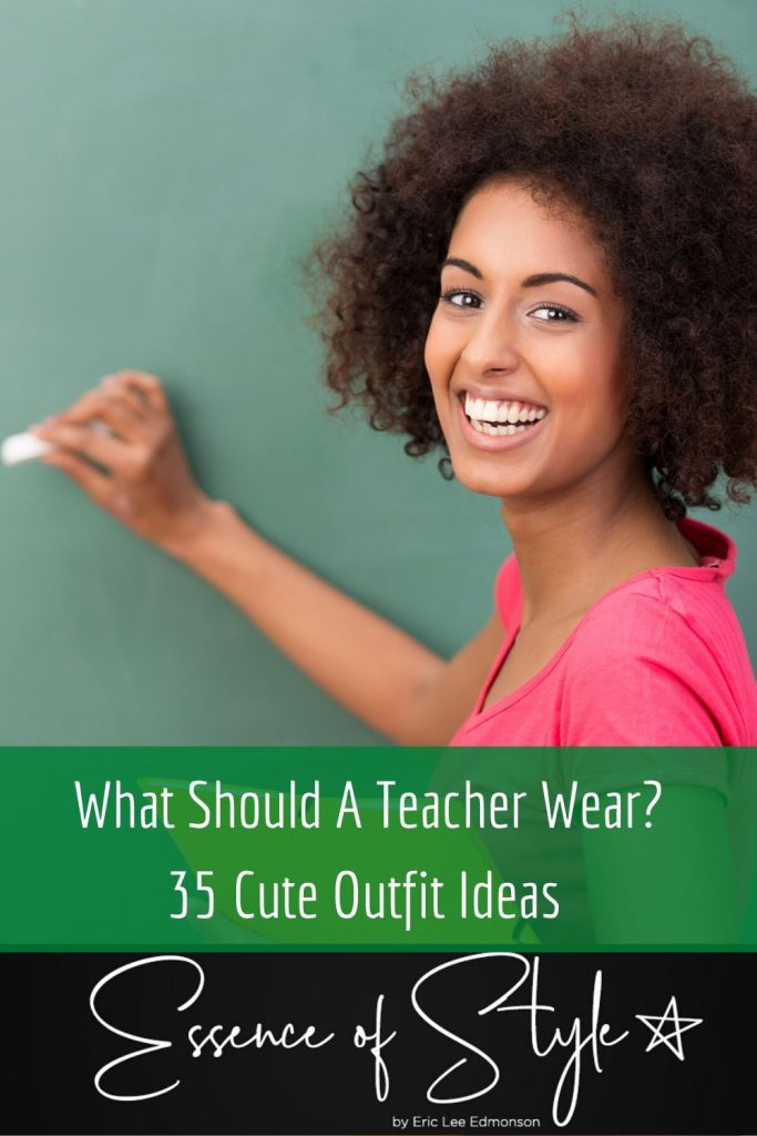 Who said Teacher outfits cannot be cute? What should a teacher wear to be cute? I have 35 cute outfit tips and ideas to help you level up your look! #teacheroutfits #teacheroutfitssummer #teacheroutfitswinter #teacheroutfitsspring