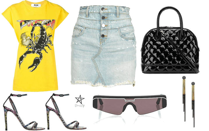 How To Style Bleached Denim