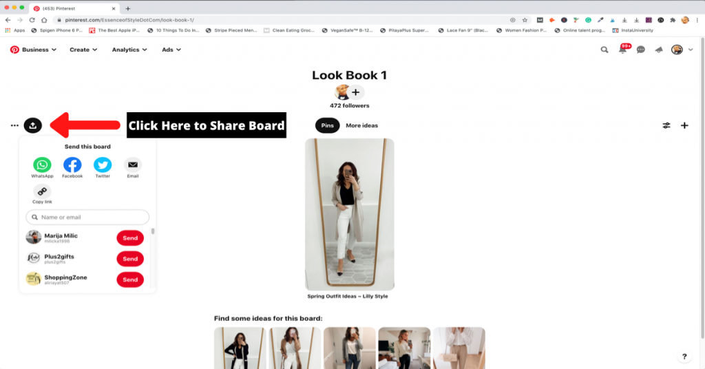 How To Create A Style/Fashion Mood Board On Pinterest